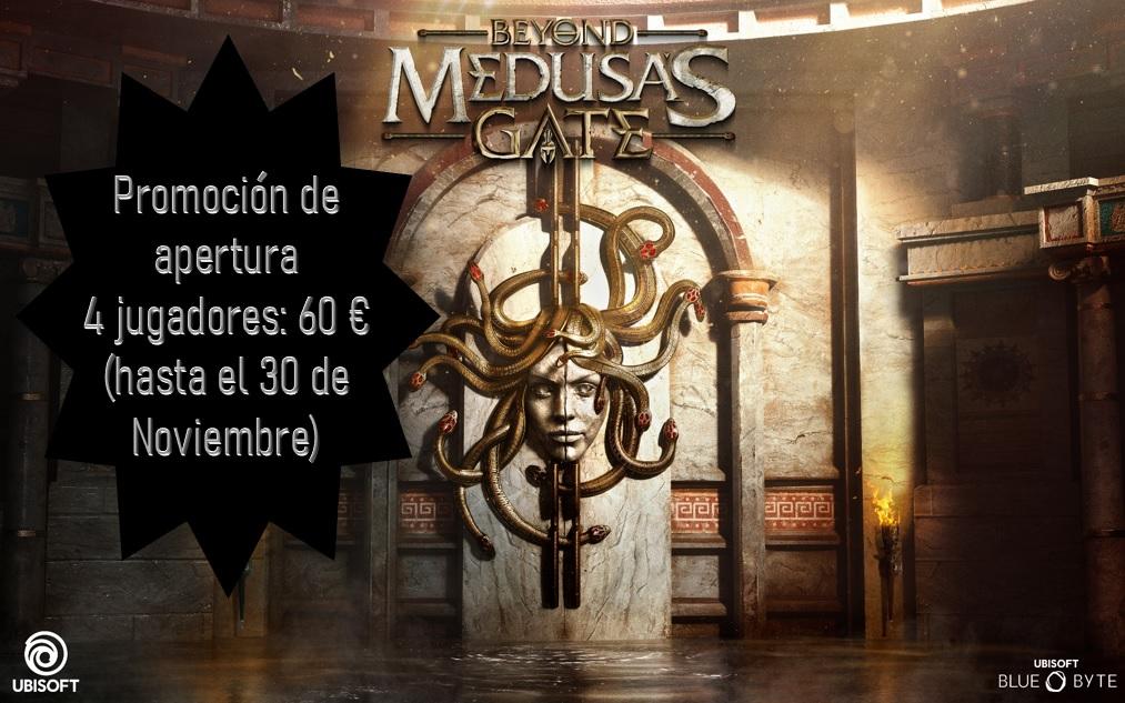 PROMOCION DE APERTURA: 4 JUGADORES: 60 € (HASTA EL 30 DE NOVIEMBRE)